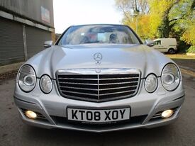2008 MERCEDES E320 CDI AVANTGARDE - 7G - PAN ROOF - LEATHER - NAV - XENONS - F.S.H - PX - FINANCE