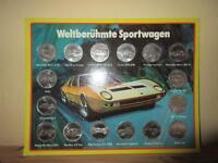 Shell Sammelmünzen Weltberühmte Sportwagen Ebay Kleinanzeigen