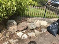 Garden Rocks Free to good home!