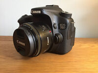 CANON EOS 70D | excellent condition + home use only