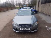 Audi a4 S line cabriolet 2 litre petrol full sline leathers and spec
