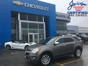 2011 Chevrolet Equinox LTZ LEATHER ROOF POWER LIFT-GATE AND 18'A
