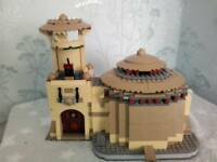 Lego star wars Jabbas Palace incomplete