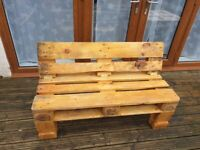 Euro Pallet Garden Patio Furniture Seating Sets for 2 People