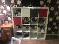 Ikea kallax 16 shelf storage unit