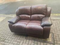 recliner two seater sofa Delivery available