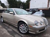 Jaguar S-Type 3.0 V6 Automatic Drives Superb Full Cream Leather Seats Memory Seats