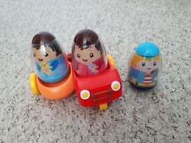Weeble toys