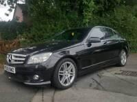 Mercedes C200K Sport AMG 2009 * 121k Miles * BARGAIN * Not C220 CDi BMW 320 330 320d 325