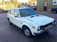Honda Civic MK1 1977 Garage Find Running and Driving Easy Project! Hondamatic!