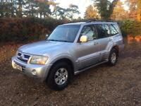 2003 Mitsubishi shogun lwb,3.2 turbo diesel-leather-high spec-ready to be used
