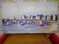 Coastal canvas picture