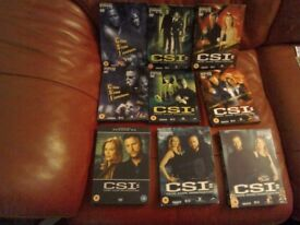 CSI Boxset Season 1 to 5