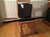 LG 310 watt Sound bar with wireless sub woofer