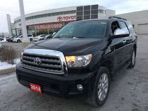 2014 Toyota Sequoia Platinum Edition, New Tires and Toyota Certi