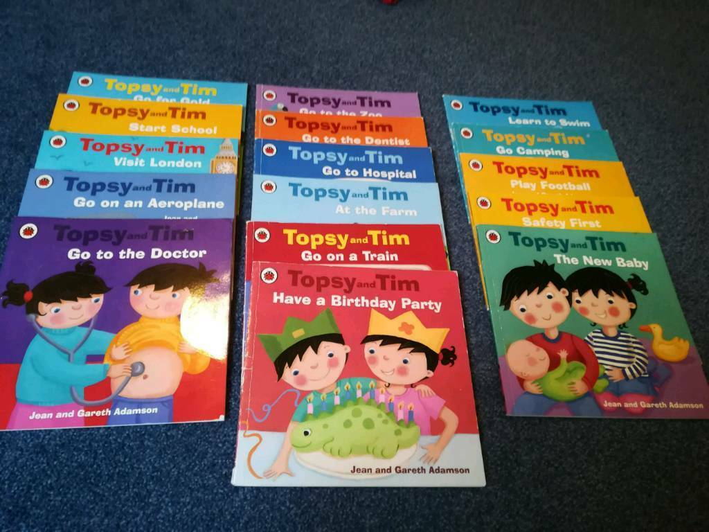 16 Topsy And Tim Books In Peterhead Aberdeenshire Gumtree