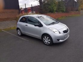 Toyota Yaris T2 very low mileage 23000 miles, full service history, two previous lady owners.