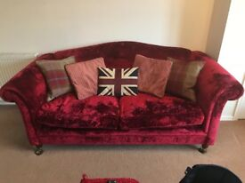 2 seater sofa and snuggle chair