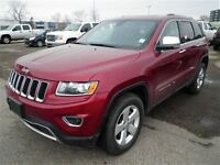 2014 Jeep Grand Cherokee Limited-4X4-LEATHER-BACK UP CAM-LOW KMS