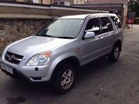 Honda CRV Sport - 2002 - 3 owners from new - 6 months MOT - FSH - 6 months warranty - New Battery -