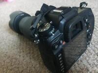 Nikon d7000 with 55-200 lens
