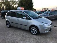 Late 2008 Ford Focus CMAX **Automatic** Petrol **33,000 Miles** (meriva,touran,scenic,astra)