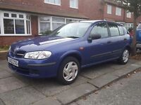 *** Nissan Almera 2002 - 1.5 - 5 Door - LOW MILEAGE - BARGAIN - honda toyota vw ford civic corolla