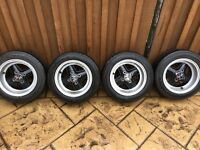 12x6 classic mini revolution alloy wheels