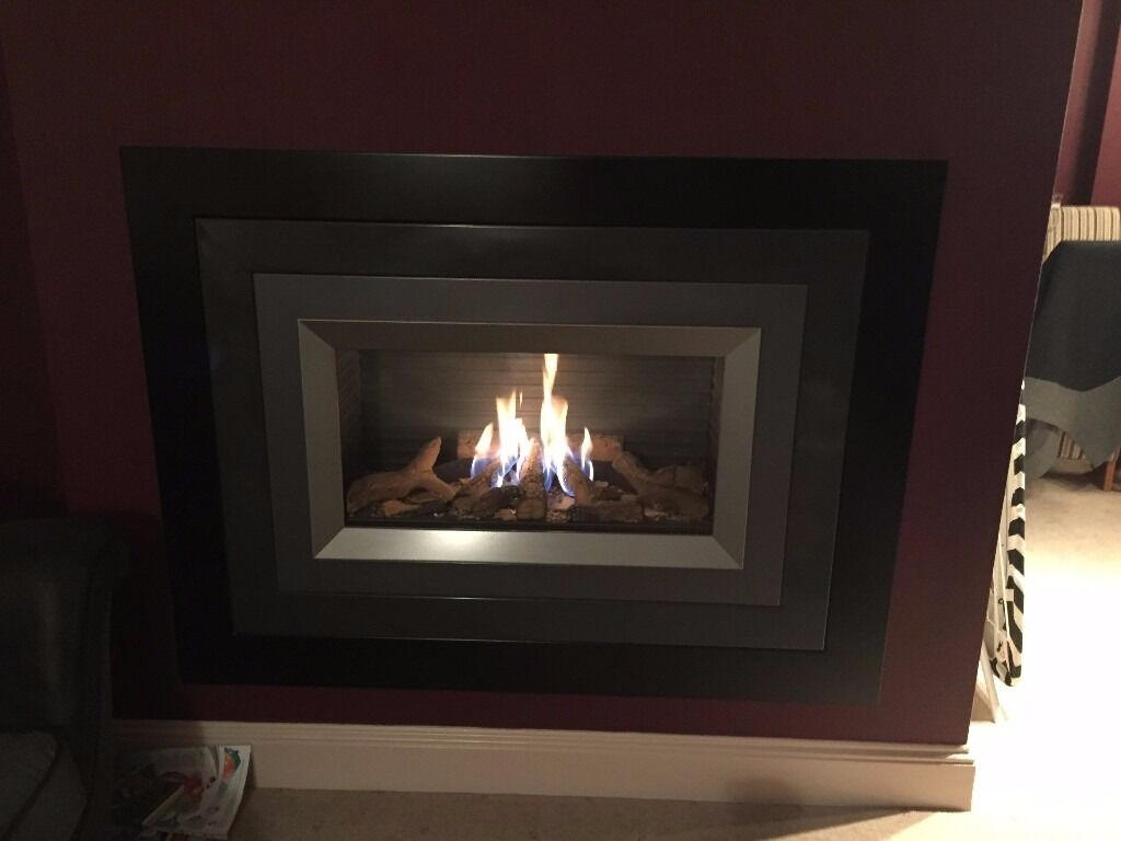 faber silence remote control built in gas fire 6kw in blackburn