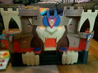 toy castle with working sounds and lights