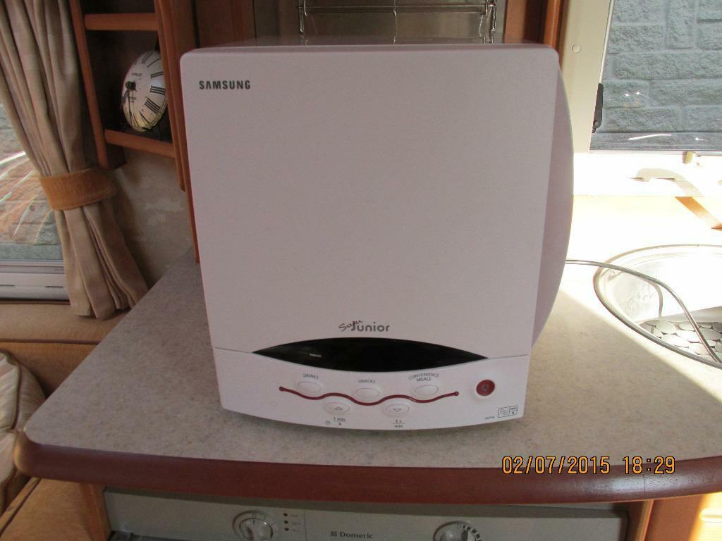 Samsung M308 Sam Junior Microwave For Caravans Boats Motorhomes Campers