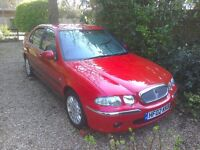 Immaculate showroom condition Rover 45 IL 16V 5 door hatchback 1600 cc