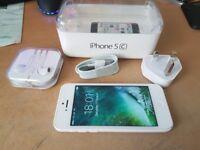 IPHONE 5C 16GB WHITE UNLOCKED + BOX