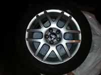 4 BBS rims with tires