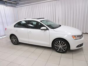 2013 Volkswagen Jetta Highline TDI Turbo Diesel! Heated Leather,