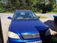 Vauxhall Astra 2003 - Spares/Repairs - Starts and Drives - MOT July 18