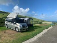 Nissan Elgrand 4WD Campervan - Not a VW Campervan