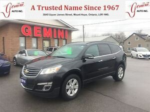 2014 Chevrolet Traverse LT AWD Remote Start Reverse Camera New T