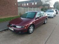 Seat Toledo 2.3 V5 77K Full history MOT April 2017!!