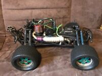 HPI Savage X4.6 Nitro Rc Truck/Car With Extras