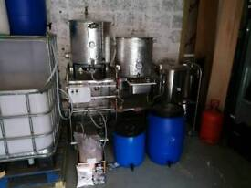 100ltr micro brewery complete turn key