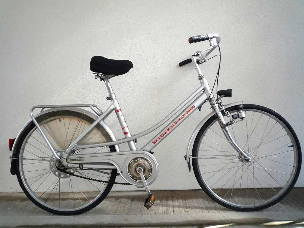 1006) 26 inch 19.5 inch Frame KETTLER COMMUTER CLASSIC LADY\'S HYBRID ...