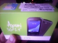 Tesco Mobile Mobiwire Aponi 3G with camera - White