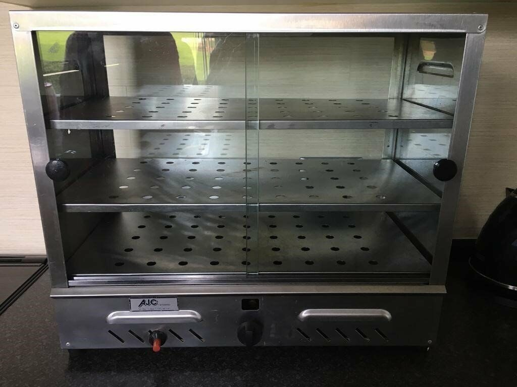 AJC LPG GAS hot cupboard hold display warmer catering commercial industrial