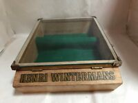 Vintage Wooden Glazed Henri Wintermans Cigar Point of Sale Display Box | Postage Available