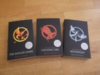 Hunger Games trilogy by Suzanne Collins - 3 paperback books from 2011 in very good condition