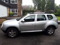Dacia Duster 1.5 Diesel Silver Excellent Condition Bluetooth