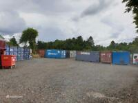 Fantastic 180 Sq Ft Shipping Container available to rent in Glasgow (G53)