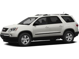 2010 GMC Acadia SLT AWD V6 Accident Free!