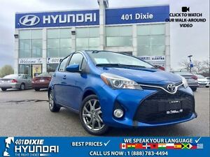 2015 Toyota Yaris SE AUTO|1 OWNER|ALLOY WHEELS|BLUETOOTH|